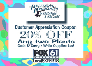 Preferred Properties Landscaping Coupon: 20% Off Any Two Plants: Nursery and Garden Center