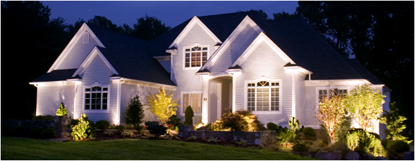 preferred properties landscaping masonry night lighting